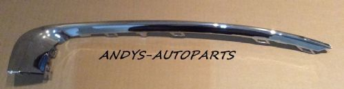 VAUXHALL INSIGNIA 2009 - 2013 FRONT BUMPER MOLDING GRILLE SURROUND CHROME LH/ RH